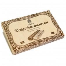 Конфеты «Кедровые палочки в шоколадной глазури», коробка 190г «Сибирский кедр»