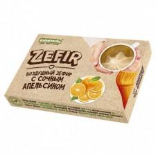 Зефир неглазированный с апельсином, 140 г (Биолоджик)
