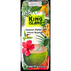 king island вода 100% кокосовая без сахара 1000мл amarica