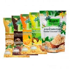 King island чипсы кокосовые с манго 40г