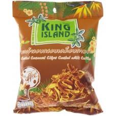 king island чипсы кокосовые в кофейной глазури 40г