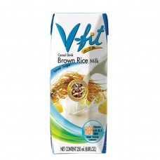 Молоко из коричневого риса без сахара V-FIT, 250мл (Тай Стайл)