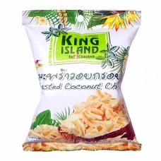 king island чипсы кокосовые бездобавок 40г