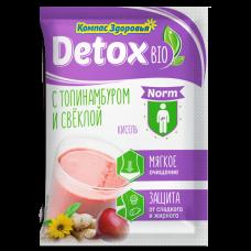 Кисель detox bio NORM с топинамбуром и свеклой 25 г (кратно 10)