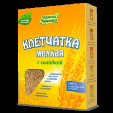 Клетчатка пшеничная мелкая с солодкой 200 г Компас здоровья