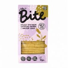 bite хлебцы хрустящие кукурузно-рисовые 150г с морской солью