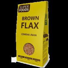 Семена коричневого льна 150 г (Brown Flax Seeds)(Компас здоровья)