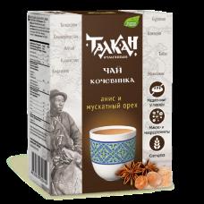 """""""Чай кочевника"""" чайный напиток зерновой с анисом и мускатом 150 г"""