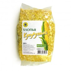 Хлопья кукурузные 300 г Компас Здоровья