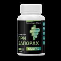 Масло льняное капсулированное ПРИ ЗАПОРАХ 300 мг (180 капсул) Компас Здоровья)