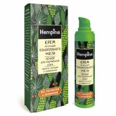HEMPINA Крем на основе конопляного масла ночной 40мл (Компас здоровья)