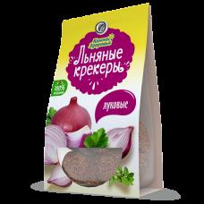 Крекеры льняные с луком 50 г (Компас здоровья)