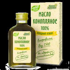 Конопляное масло 100 мл Компас Здоровья