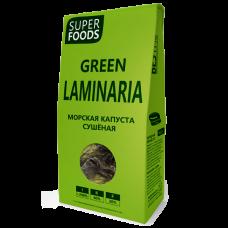 Морская капуста сушеная (ламинария) 100 г (Green Laminaria)