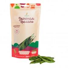 Здоровый овощной перекус из ЗЕЛЕНОЙ ФАСОЛИ, 30гр (Зеленика)