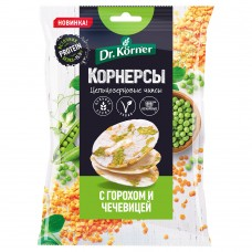 Чипсы ц/з рисовые с ГОРОШКОМ и ЧЕЧЕВИЦЕЙ 50гр (Хлебпром)
