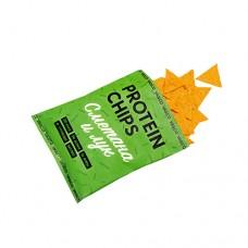 Протеиновые Чипсы VASCO вкус сметана и зелёный лук 40гр