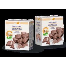 Подушечки из полбы с какао и молоком 200 гр. (Вастэко)