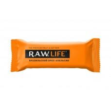 Орехово-фруктовый батончик R.A.W. LIFE Бразильский орех - Апельсин, 47г