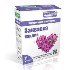 Закваска-пробиотик «Кардио» (5 пакетиков по 3г) «Бакздрав»