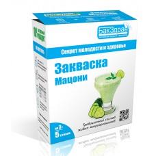 Закваска «Мацони» (5 пакетиков по 3г) «Бакздрав»