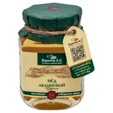 Мед натуральный полифлорный АКАЦИЕВЫЙ Избранное 200гр (Берестов А.С.)