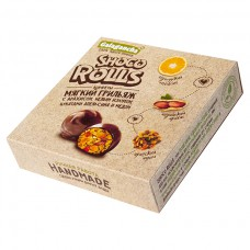 Конфеты «Galagancha Shoco Rolls» Мягкий грильяж с арахисом, белым изюмом, цукатами апельсина и медом (135г) Берестов А.С.