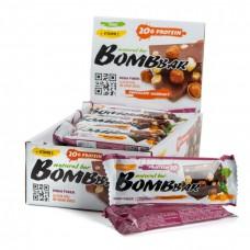 Протеиновый батончик BOMBBAR шоколад с фундуком 60гр