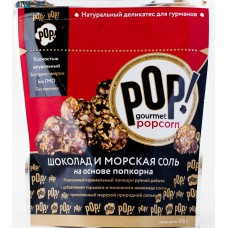 Попкорн «Шоколад и морская соль», 100г (Корн)