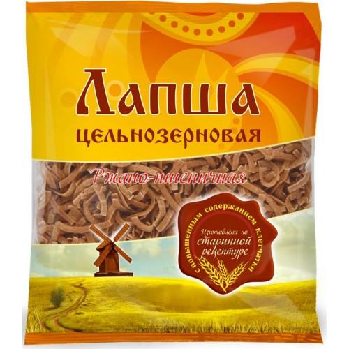 Лапша цельнозерновая ржано-пшеничная «Дивинка» (300г)
