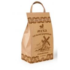 Мука пшеничная цельнозерновая (биопакет, 10 фунтов, 4,1кг) «Дивинка»