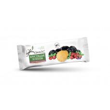 Хрустящие хлебцы С ЧЕРНОСЛИВОМ И КЛЮКВОЙ на фруктозе, 70г (Кэнапс)