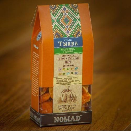 Тыквенные цукаты «Nomad»