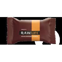 Конфета R.A.W. LIFE SWEETS Апельсиновый трюфель, 18г