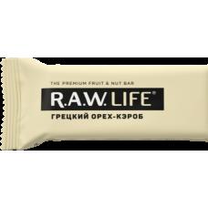 Орехово-фруктовый батончик R.A.W. LIFE Грецкий орех - Кэроб, 47г