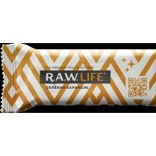 """Орехово-фруктовый батончик R.A.W. LIFE """"Соленая карамель"""", 47г"""