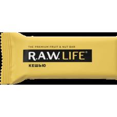 Орехово-фруктовый батончик R.A.W. LIFE Кешью, 47г