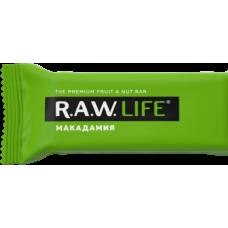 Орехово-фруктовый батончик R.A.W. LIFE Макадамия, 47г