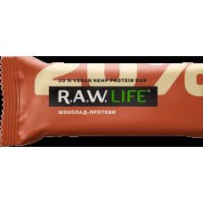 Орехово-фруктовый батончик R.A.W. LIFE Шоколад-Протеин, 50 г