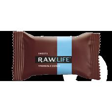 Орехово-фруктовый батончик R.A.W. LIFE Трюфель с солью, 47г