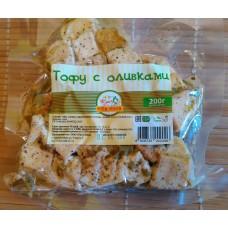Тофу с оливками (200г) «Рита Нова»