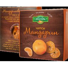 Чипсы мандарин, 20г, коробка (С-Фрукт)