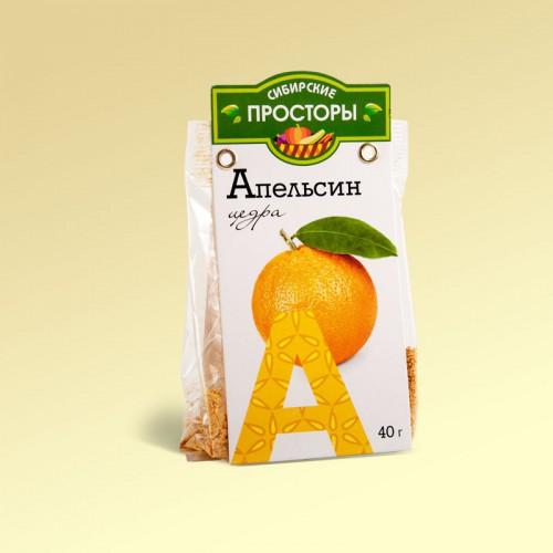 Цедра апельсина, 40г (С-Фрукт)