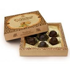 Конфеты «Кедровый Грильяж» с облепихой в шоколадной глазури, 120г (Сибирский Кедр)