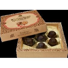 Конфеты «Кедровый Грильяж» с клюквой в шоколадной глазури, в коробке, 120г «Сибирский кедр»