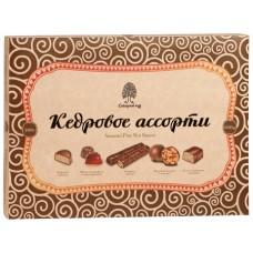Конфеты «Кедровое Ассорти» (коробка 200г) «Сибирский Кедр»