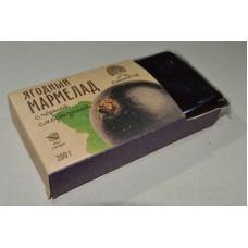 Мармелад «Ягодень» с черной смородиной (брикет) 200г «Сибирский кедр»