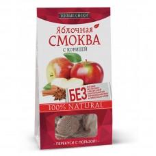 Яблочная СМОКВА с КОРИЦЕЙ 60гр (Живые снеки)
