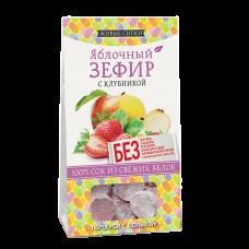 Яблочный зефир с КЛУБНИКОЙ 60 гр