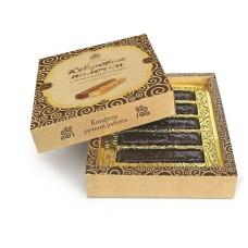 Конфеты «Кедровые палочки в шоколадной глазури», коробка 120г «Сибирский кедр»